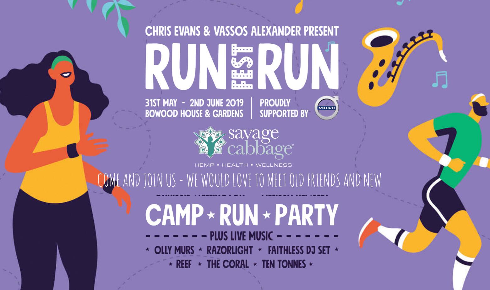Run Fest Run RUNFST | Savage Cabbage